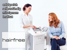 hairfree, das Franchise-System für Manager, Power-Paare und Unternehmerinnen,