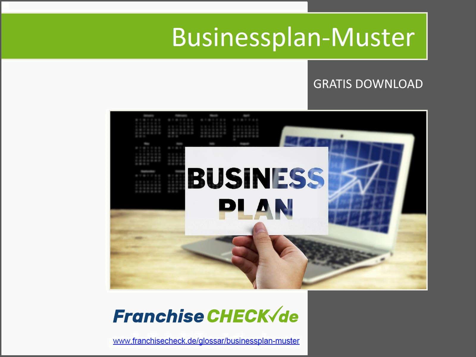 Diagramm Businessplan Muster