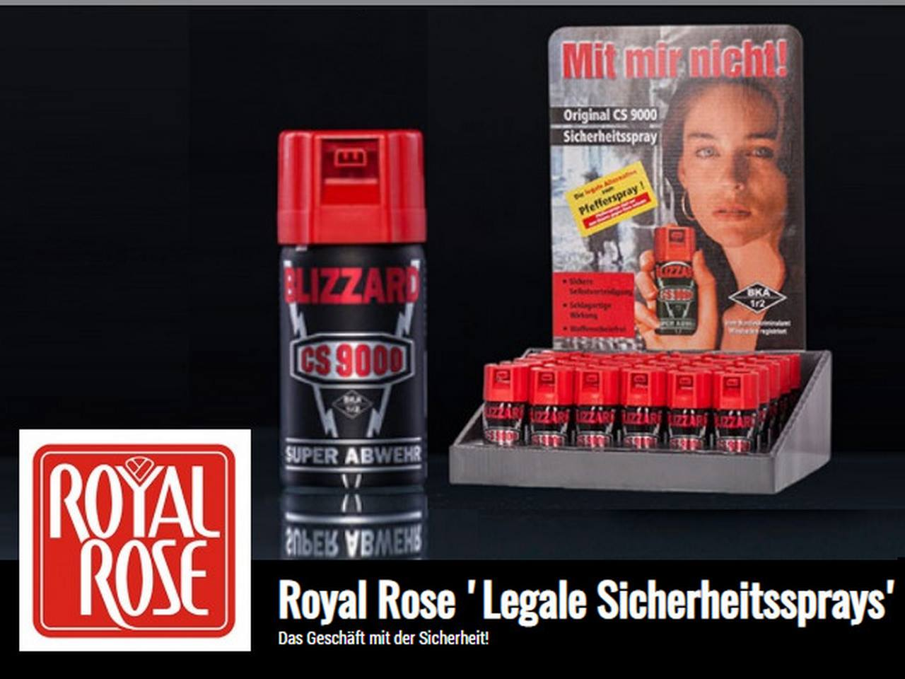 Royal Rose Sicherheitssprays