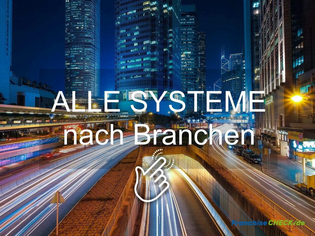 Alle Franchise Systeme nach Branchen