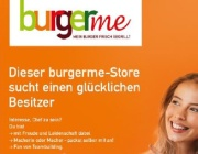 burgerme macht's anders: Store sucht Franchisepartner