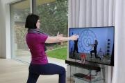 Mrs.Sporty Live-Fitnesstraining in Wohnzimmern
