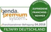 """""""Ausgezeichnet"""": FiltaFry erhält igenda-Premium-Siegel für Partnerzufriedenheit"""