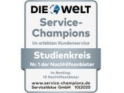 Studienkreis: Service-Champion der Nachhilfeanbieter