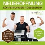 Körperformen Neueröffnung in Rüsselsheim