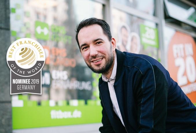 """fitbox Franchisepartner der ersten Stunde ist nominiert für """"Best Franchisee of the World"""" Award"""