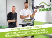 Körperformen Neueröffnung in Pfungstadt