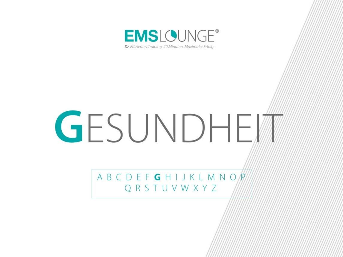 EMS-Lounge ABC: G wie Gesundheit