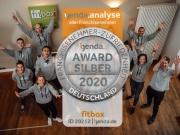 fitbox erhält Auszeichnung für besonders zufriedene Franchisepartner